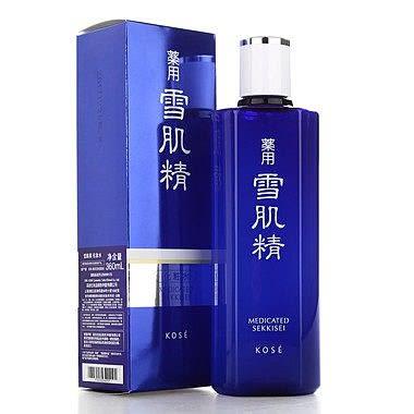 高絲KOSE 藥用雪肌精化妝水 360ML (極潤型) 全新百貨專櫃正貨盒裝