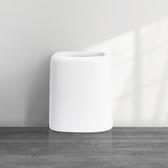 ◄ 生活家精品 ►【W28】北歐雙層垃圾桶 創意 家用 無蓋 客廳 衛生間 臥室 廚房 大號 辦公室