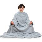 竹炭超細纖維靜坐兩用袖毯(附繩) RM-10375