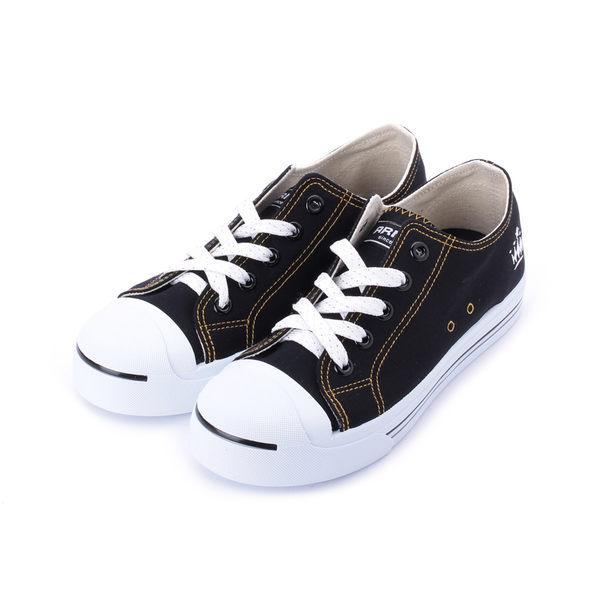 ARNOR 復古帆布鞋 黑 AR82900 女鞋 鞋全家福