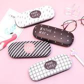YAHOO618☸ 新品上架▶ 眼鏡盒 眼鏡盒少女款原宿創意個性便攜抗壓卡通眼鏡盒mousika