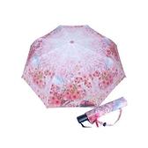 戀戀阿里山三折自動傘晴雨傘-櫻花粉