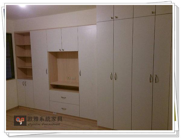 【系統家具】系統衣櫃 系統電視櫃 多層收納空間