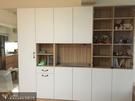 【歐雅 系統家具 】儲物玻璃櫃