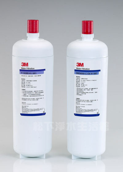 3M智慧型雙效淨水系統DWS6000-ST-替換濾芯組合(2入組)