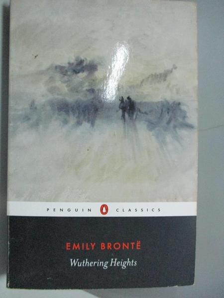 【書寶二手書T1/原文小說_AA9】Wuthering Heights (Penguin Classics)_Bronte, Emily