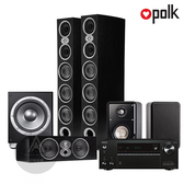 Polk Audio RtiA9 環繞家庭劇院組 (安橋TX-NR686/RtiA9/CsiA6/S15/JBL P10SW) 黑色箱體