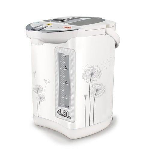 【中彰投電器】鍋寶(4.8L)電動熱水瓶,PT-4808-D【全館刷卡分期+免運費】
