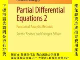 二手書博民逛書店Partial罕見Differential Equations 2-偏微分方程2Y436638 Friedri
