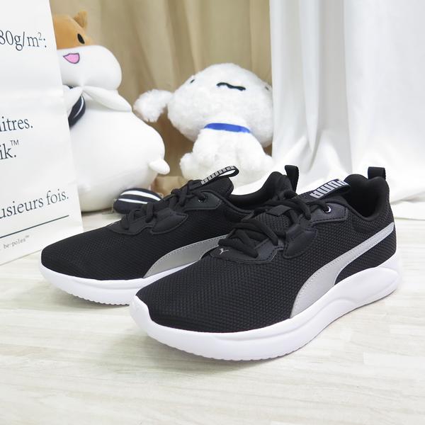 PUMA RESOLVE 男款 輕量 休閒鞋 19473910 黑x銀 大尺碼【iSport愛運動】