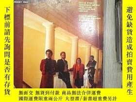 二手書博民逛書店INTERIORS罕見JANUARY 1987 (010)Y18