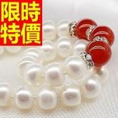 珍珠項鍊 單顆10-11mm-生日情人節禮物俏麗知性女性飾品53pe3【巴黎精品】
