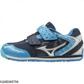 Mizuno Asobi Kids [K1GD193754] 中童鞋 運動 休閒 跑步 發育 保護 美津濃 藍白