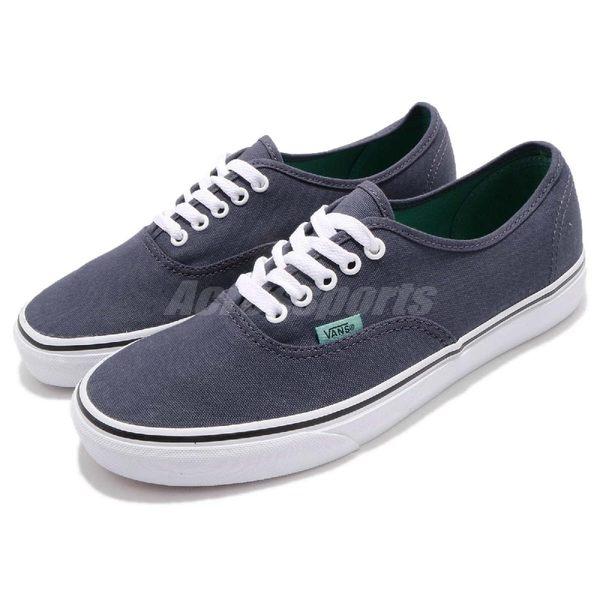 Vans Authentic 基本款 藍 白 低筒 滑板鞋 休閒鞋 保羅 沃克 男鞋【PUMP306】 61010137