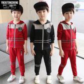 兒童裝男童新款套裝中大童春秋8歲兒童秋款衣服10韓國潮 中秋節禮物