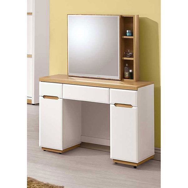 露西3.3尺鏡台組(含椅)(21JS1/142-3)/H&D東稻家居