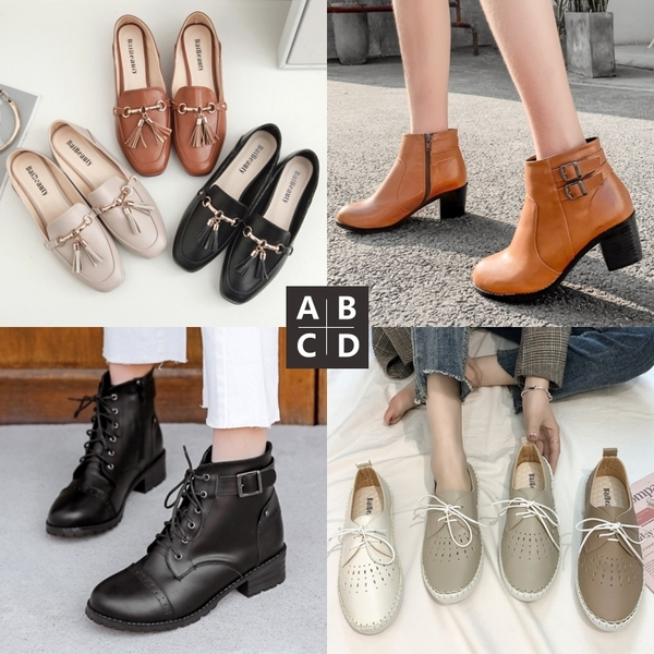 白鳥麗子【新年就要穿新鞋】日常必備款 - MIT好品質 (全面現貨 - 4款任選)