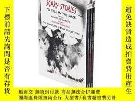二手書博民逛書店在黑暗中講述的恐怖故事系列3本套裝罕見英文原版 Scary St