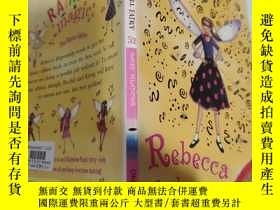 二手書博民逛書店rainbow罕見magic Rebecca the rock n roll fairy 彩虹魔術搖滾仙女麗貝卡.