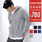 United Athle 日牌 高磅厚刷毛保暖連帽外套 10oz 【UA5620】7色