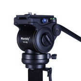 Manbily 曼比利 VH-80 三向雲台 液壓阻尼 攝錄影雲台 附長手柄 全景雲台 微調阻尼【公司貨】