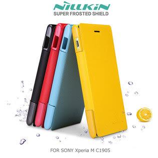 【清倉】SONY M C1905 奈爾金鮮果皮套 索尼 Xperia M NILLKIN新皮士側掀皮套 保護皮套