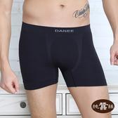 【岱妮蠶絲】EM50402蠶絲高腰貼身無縫平口褲(黑色)
