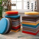 8折免運 新品亞麻布皮革高密度海綿坐墊實木紅木沙發座墊飄窗臺墊子可定做