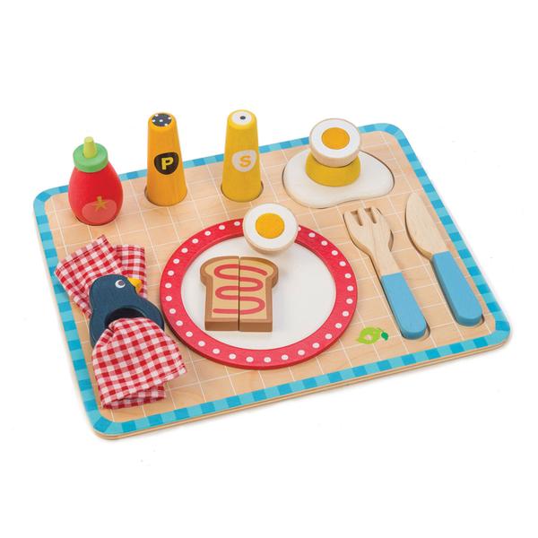 【美國Tender Leaf Toys】我的營養早餐盤(廚房家家酒系列)