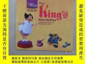 二手書博民逛書店英文書;罕見The King S New Clothes 共16