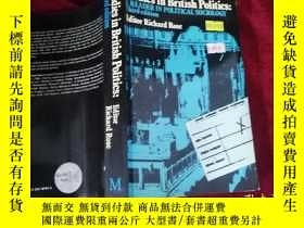 二手書博民逛書店Studies罕見in British Politics: A