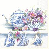 骨瓷午茶具-德國 IHR 餐巾紙(33x33cm)