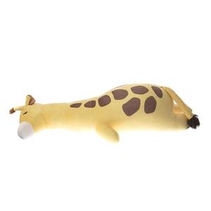 HOLA 彈力超柔造型抱枕-厭世長頸鹿