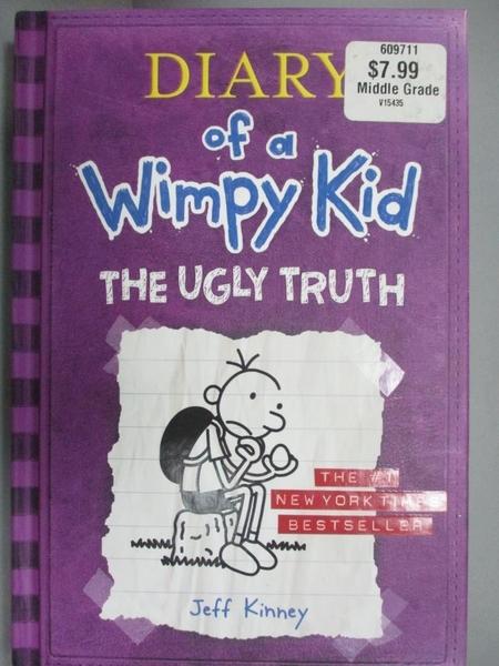 【書寶二手書T2/少年童書_LRD】The Ugly Truth_Kinney, Jeff
