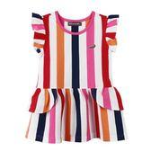 『小鱷魚童裝』亮彩直條紋洋裝(02號~08號)533387