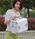 大號專業化妝箱化妝包化妝盒收納盒化妝工具...