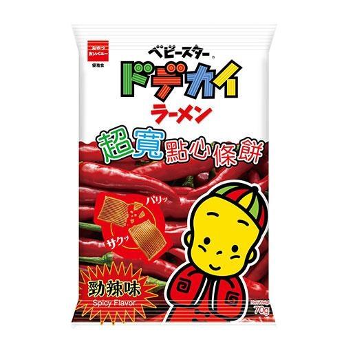 優雅食超寬條餅-勁辣口味70g【愛買】
