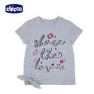 chicco-TO BE-空心字短袖上衣