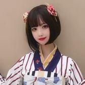假髮-假髮女短髮LOLITA軟妹黑色短直髮日常波波BOBO頭逼真自然全頭套式 東京衣秀