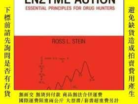 二手書博民逛書店Kinetics罕見of Enzyme Action: Essential Principles for Drug