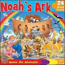 [KANGA GAMES]拼圖 諾亞方舟 Fun and Learn - Noah's Ark  24片