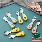 學吃飯訓練兒童餐具嬰幼叉子勺子套裝【福喜行】