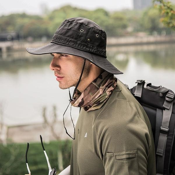 泰博思 速乾漁夫帽 遮陽漁夫帽 遮陽帽 漁夫帽 帽子 防曬帽 釣魚帽【V040】