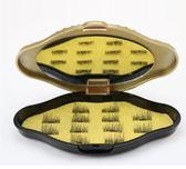 全眼長款單磁雙磁磁鐵假睫毛3D免膠磁性防過敏重復用自然磁力睫毛 森雅誠品