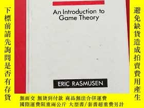 二手書博民逛書店GAMES罕見AND INFORMATION An Introd