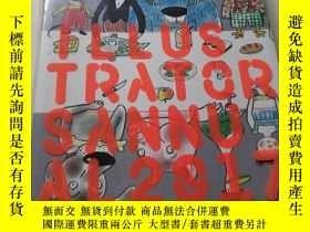 二手書博民逛書店Illustrators罕見Annual 2017Y23470