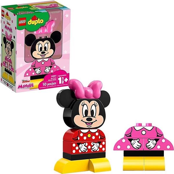 LEGO 樂高 DUPLO迪士尼Juniors My First Minnie Build 10897 Building Bricks(10 Pieces)