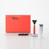 【bläk】blak經典刮鬍刀禮盒套組2.0版(夜光橙)