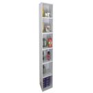 六層間隙書櫃 收納櫃 置物櫃(寬24x深...