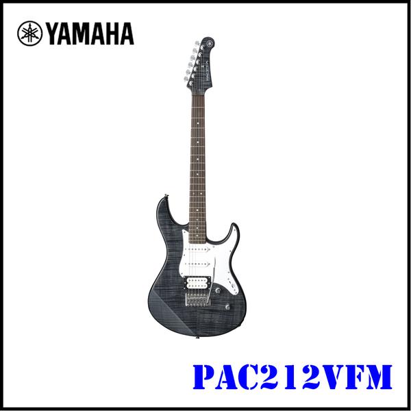 【非凡樂器】YAMAHA PAC212VFM 電吉他 /黑色TBL/ 全配件贈送